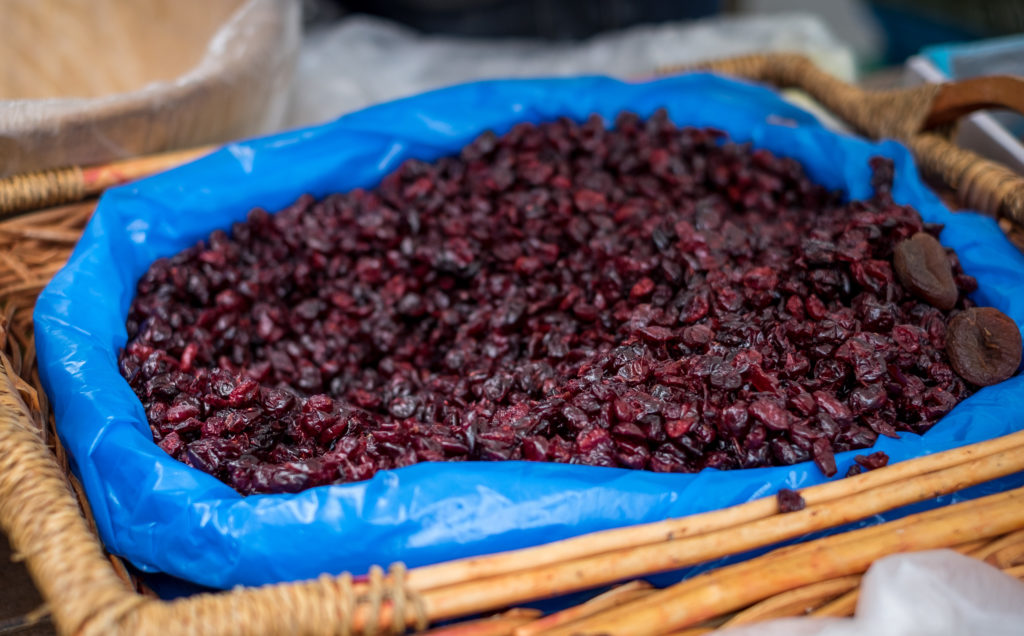 Feine getrocknete Cranberries vom Nüssli Maa