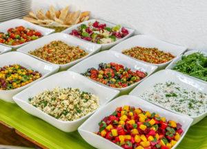 Buffet im YamYam jeweils Mittwochs (Vegan, Vegetarisch) und Freitags (persisch).